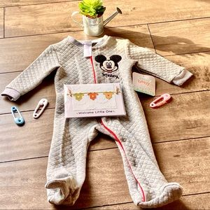 Disney Baby Mickey Sleeper-NWT